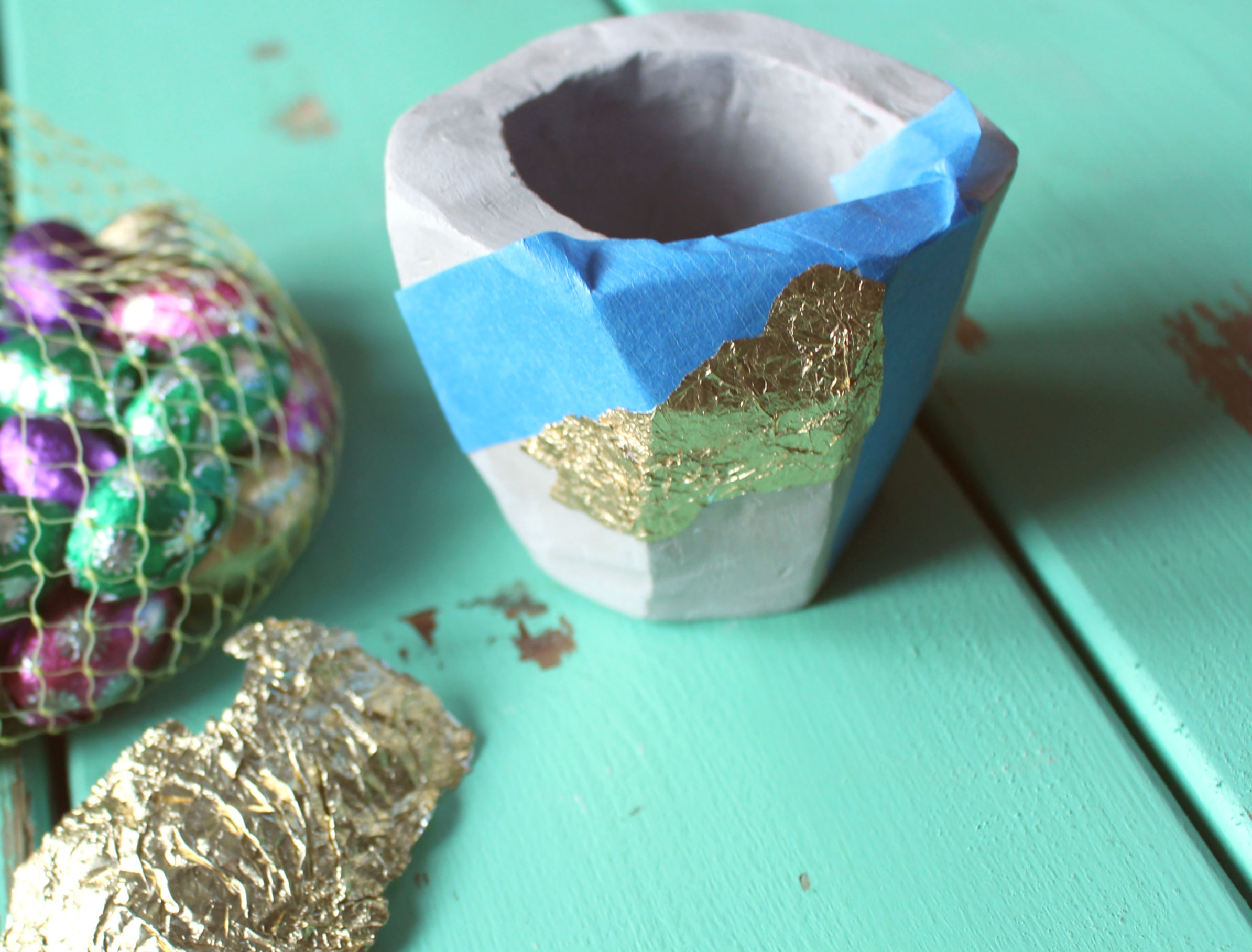 DIY Clay Planter 9