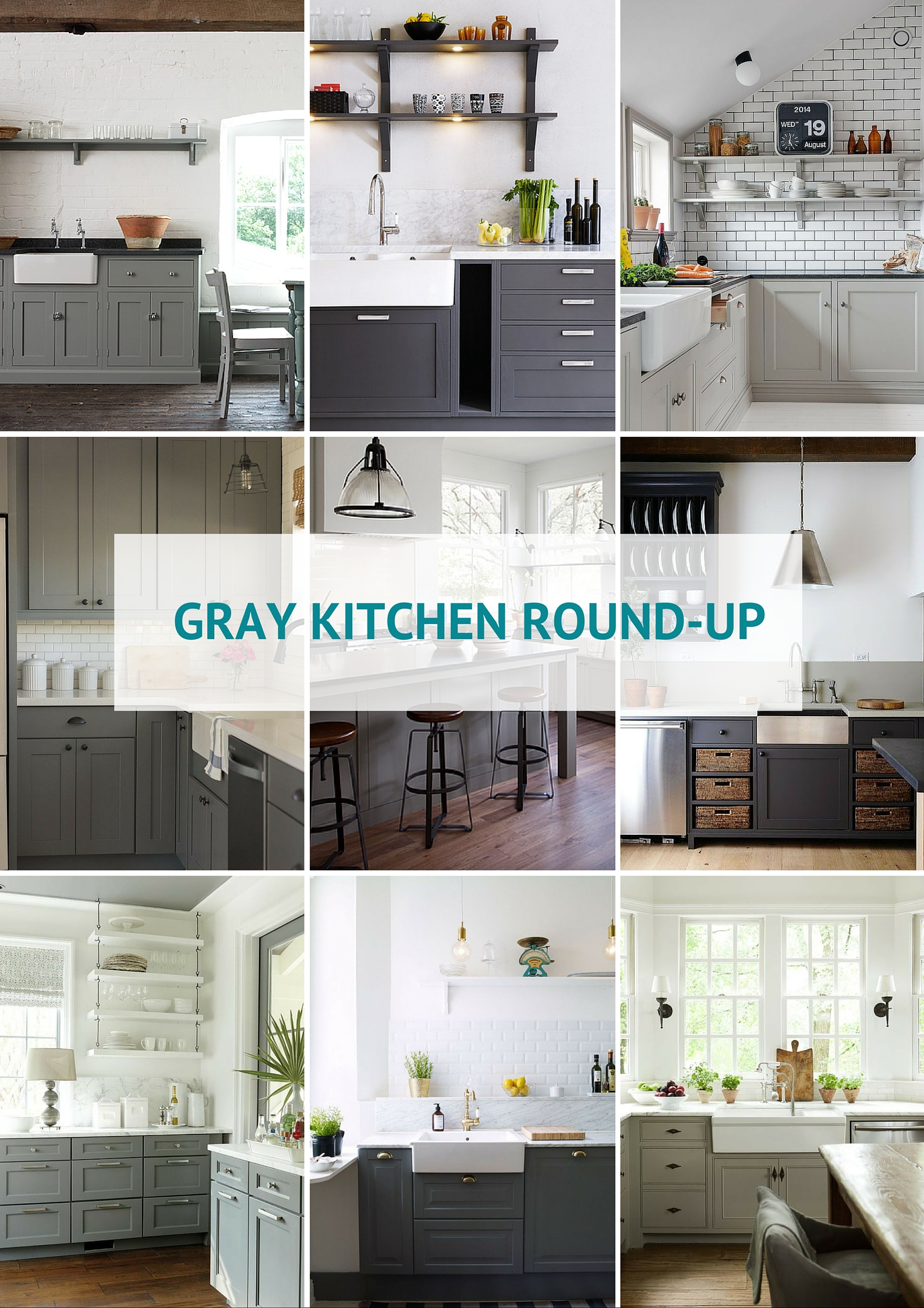white gray kitchen 2. The great debate when it comes to your kitchen makeover  what colour choose for cabinets or maybe thats just me For 8 whole months and 3 years Gray Kitchen Round Up Kassandra DeKoning