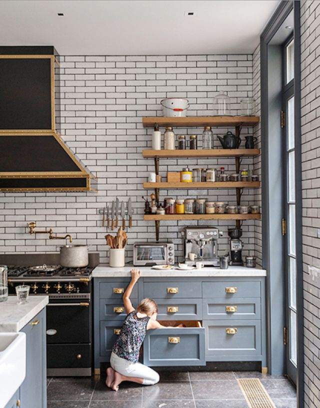 Gray Kitchen RoundUp Kassandra DeKoning