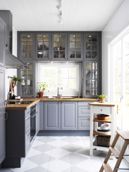 Gray Kitchen RoundUp Kassandra DeKoning - Beautiful gray kitchens