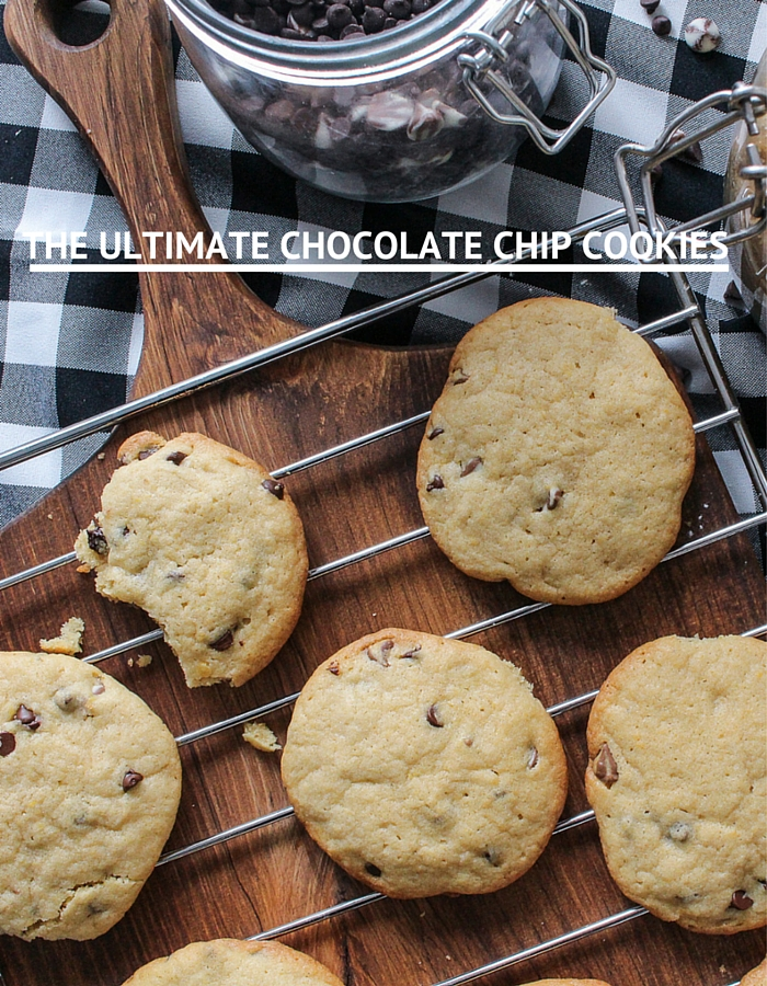 The Ultimate Chocolate Chip Cookies, that are fool proof & kid-friendly!