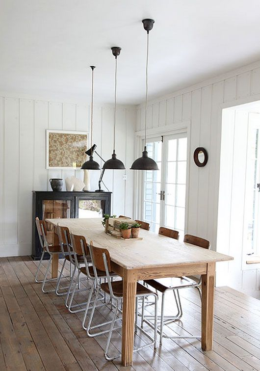 Modern Farmhouse Inspired Dining Areas