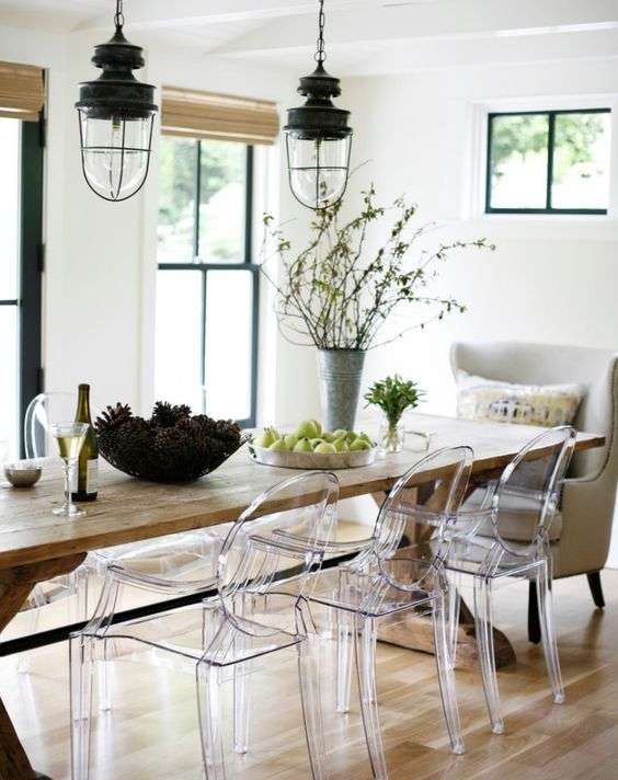 Mondern Farmhouse Inspired Dining Areas
