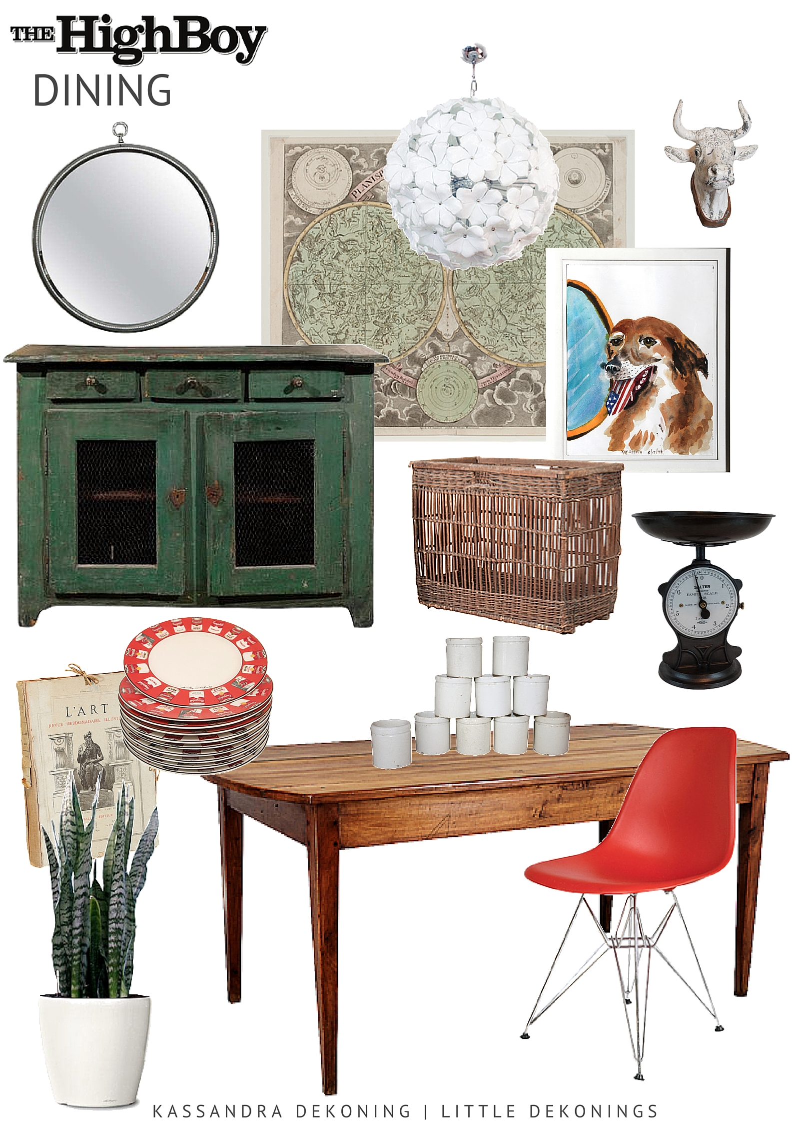 "Dine with ""The Highboy"" - Antique and Vintage Furniture"