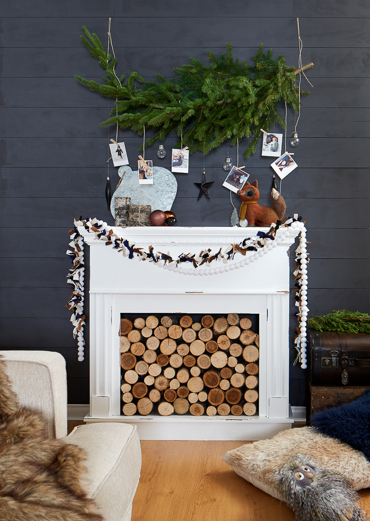 Favourite Holiday Mantel Round-Up