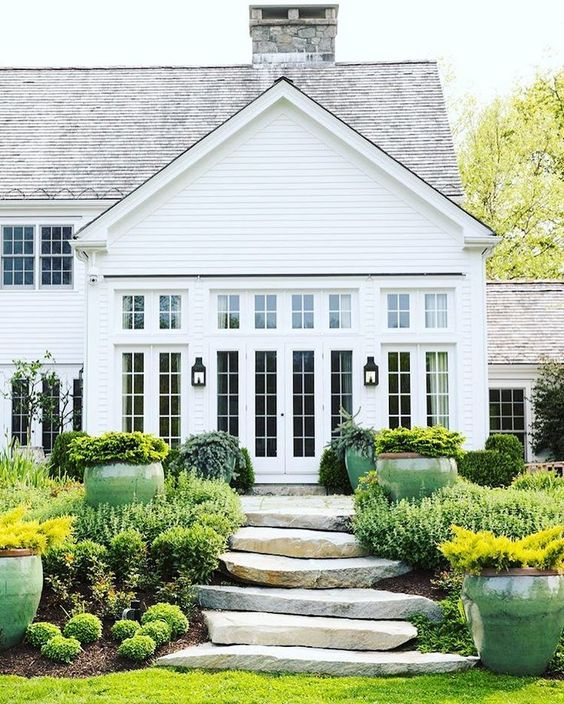 The Images Collection Of Modern Farmhouse Exterior Designs: Contemporary + Modern Farmhouse Exteriors