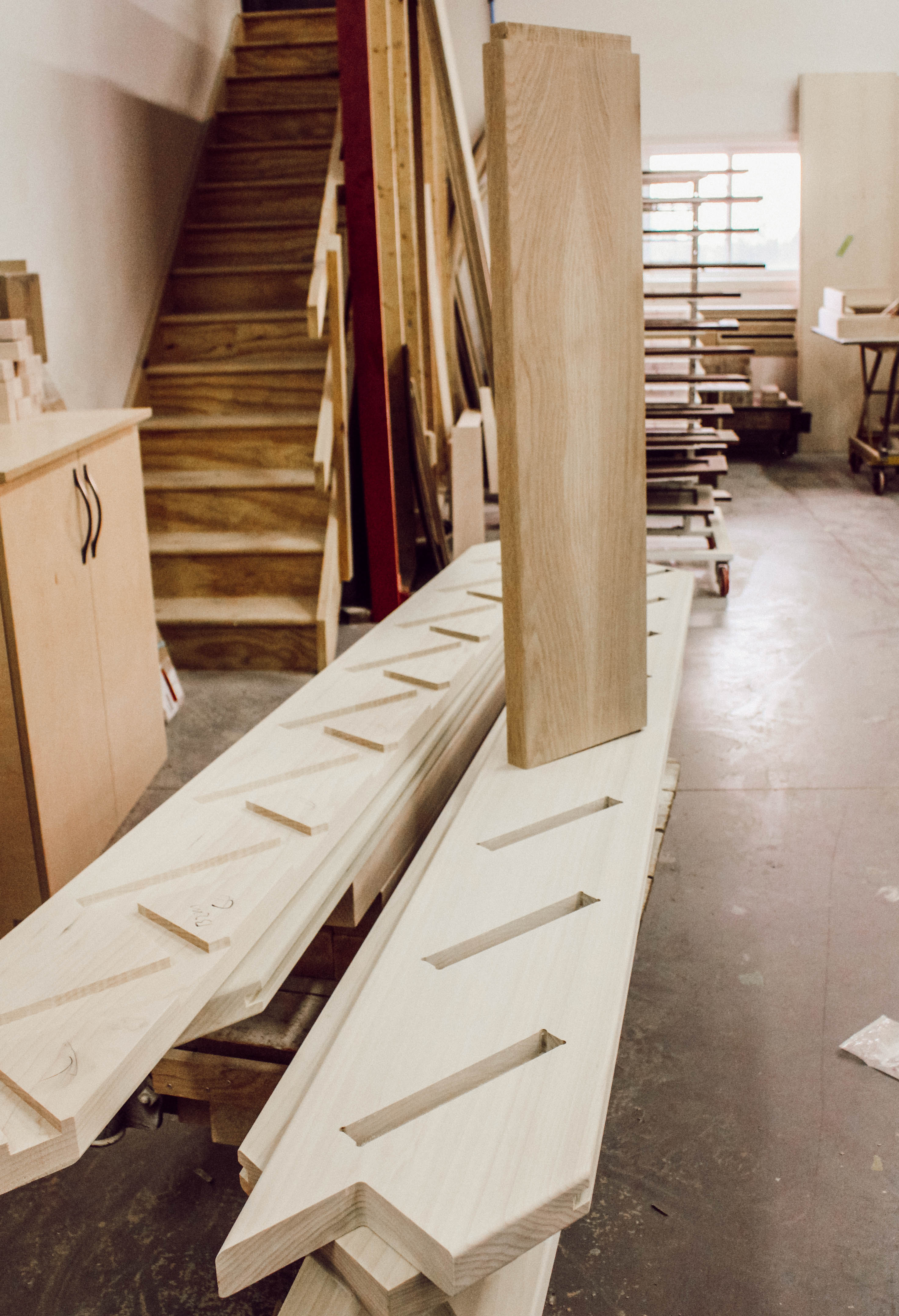 The Production Process with Woodland Horizon