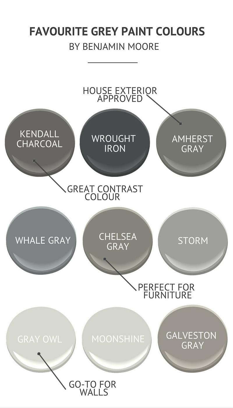 K Paint Colours